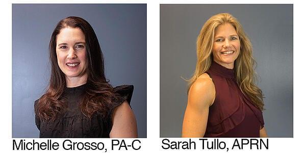 Sarah Tullo and Michelle Grosso