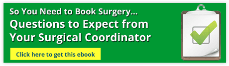ebook for what to expect with a surgical coordinator
